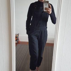 Black topshop overalls